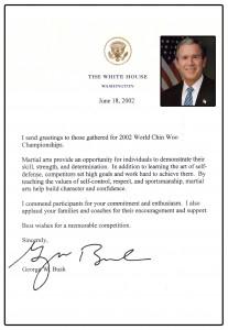 36-President Bush Letter 2002